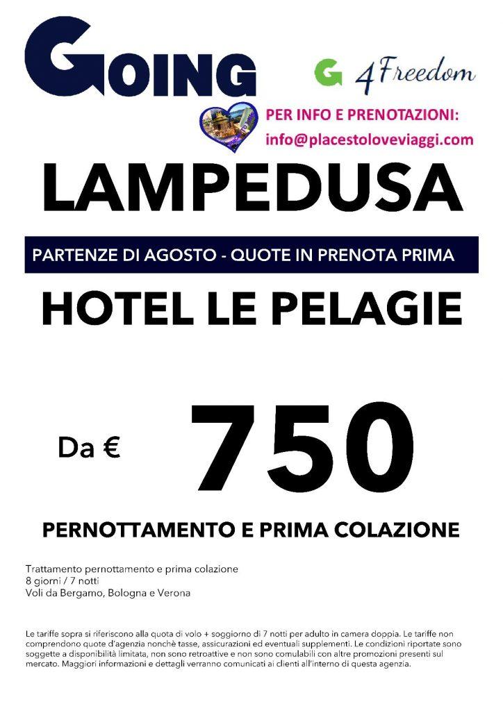 Stunning Lampedusa Volo Soggiorno Ideas - Idee Arredamento Casa ...