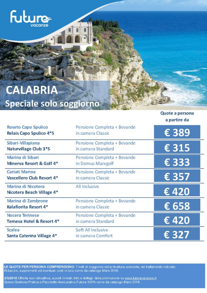 Calabria - Offerte Estate 2018 Mare Italia – Places to Love