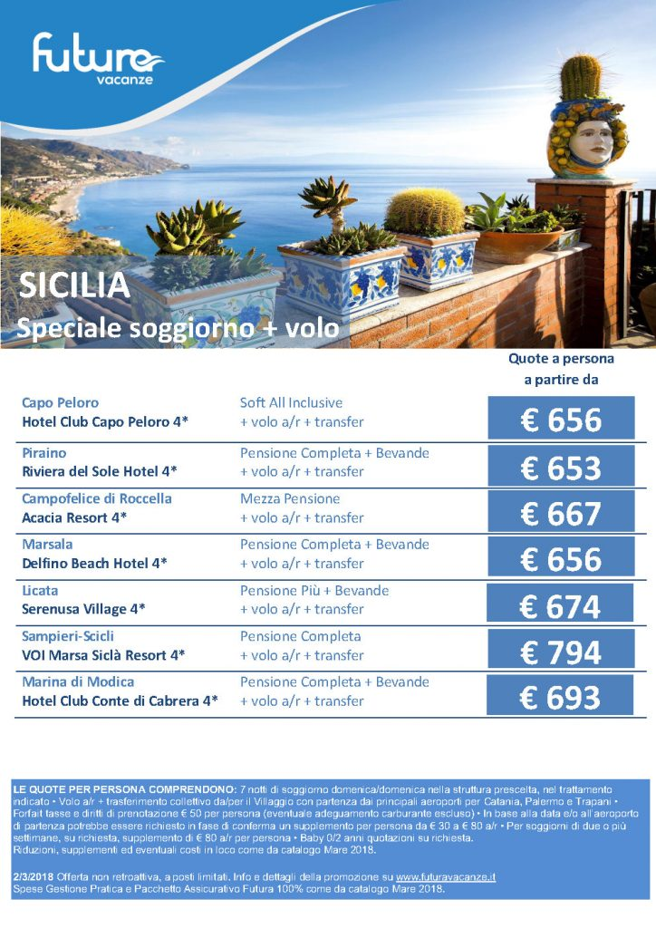 Sicilia - Offerte Estate 2018 Mare Italia - – Places to Love